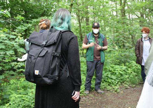 Wildkräuterwanderung im Wald - 06.06.2021 #12