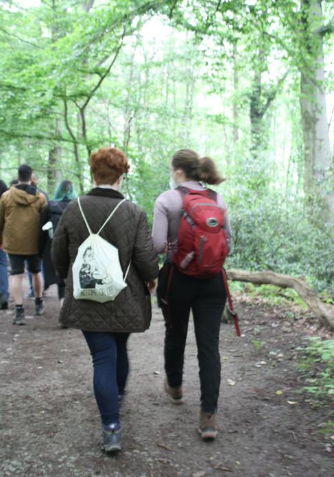 Wildkräuterwanderung im Wald - 06.06.2021 #15
