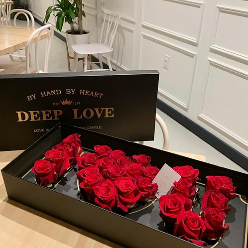 Deep Love Flower Box