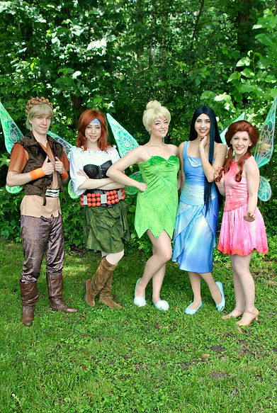 Tinker Bell | Princess Parties Hampton Roads | Wishery Entertainment