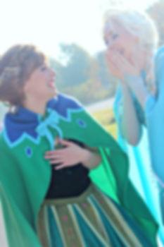 Frozen Sisters | Princess Parties Hampton Roads | Wishery Entertainmentrs