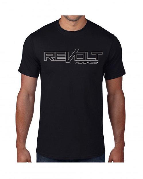Black Revolt Logo Performance Shirt