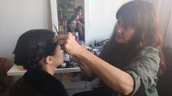 MUAH assistant to Susana Sanchez