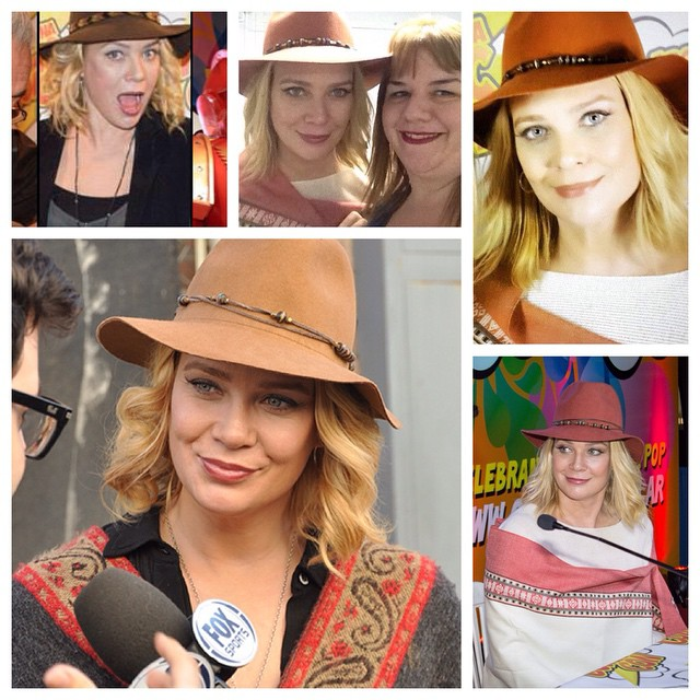 Maquillaje a Laurie Holden