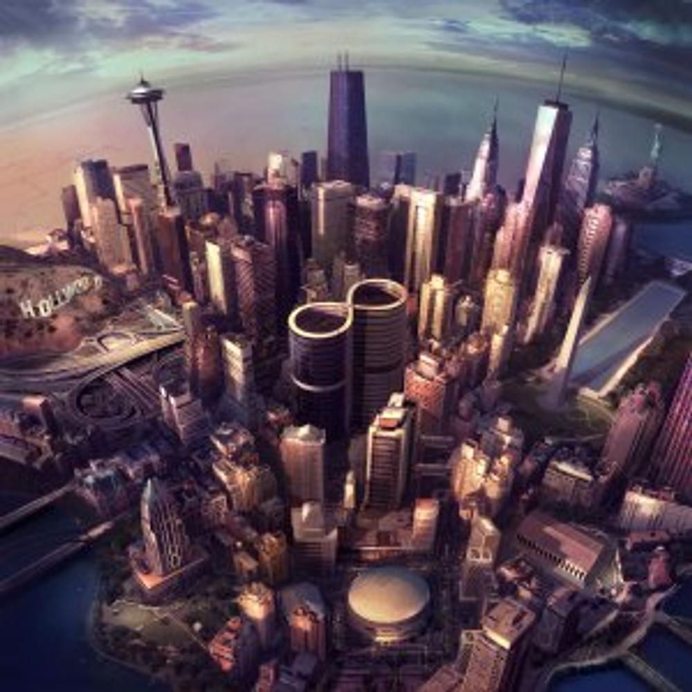 Foo Fighters - Sonic Highways Album Cover