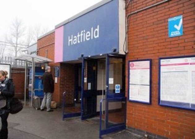 Hatfield Station - Credit: Welwyn Hatfield Times