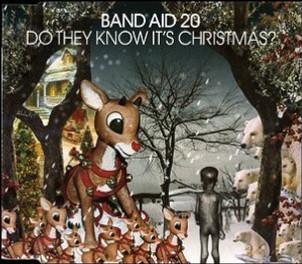 Band Aid 20 Album Cover -