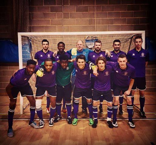 Men's Futsal first, picture credit to Brunel University Futsal coach