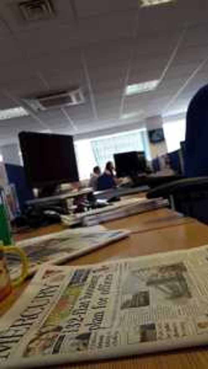 The Hertfordshire Mercury and the Newsroom