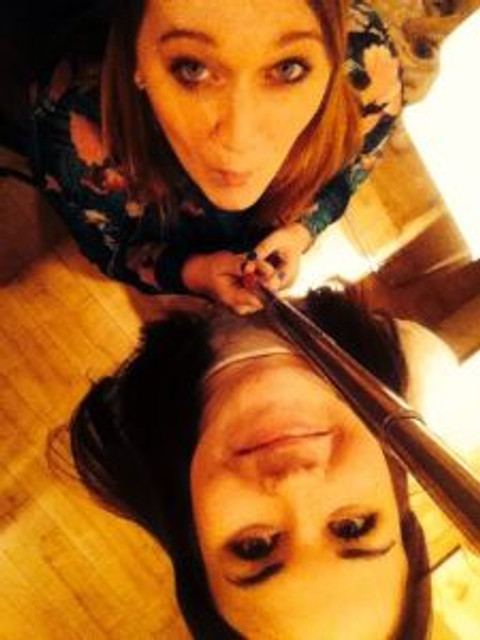 selfie stick again - shelby loasby