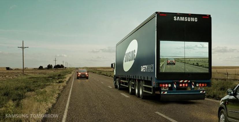 Image: Safety Truck, Samsung Newsroom, Flickr cc by-nc-sa 2.0