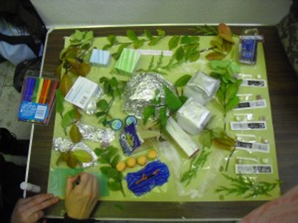Crap model of the University during my 4 days on the wrong course 2