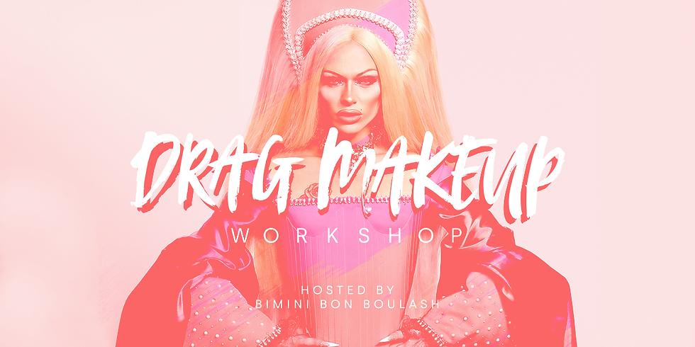 Drag Make Up workshop with Bimini Bon Boulash