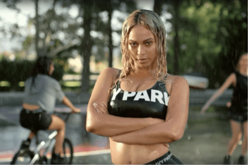 Beyoncé in her 'Where is your Park' video