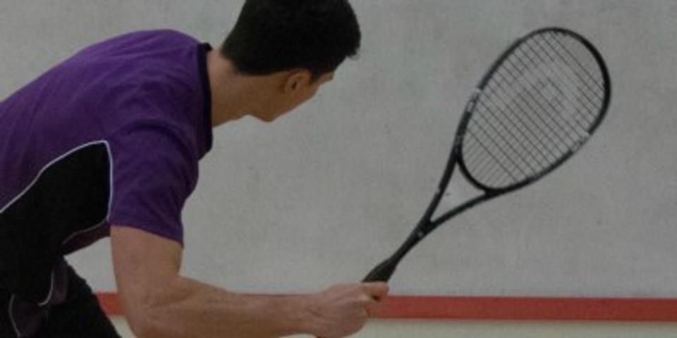 Mens squash article - James Saunders