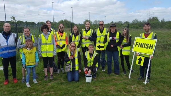 Park Run Volunteers, Picture taken by Park Run participant