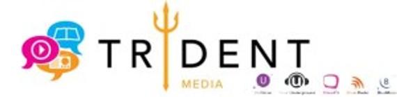 Trident Media Logos