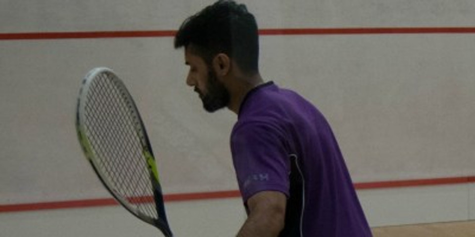 Mens Squash Article - Vishal Mistry