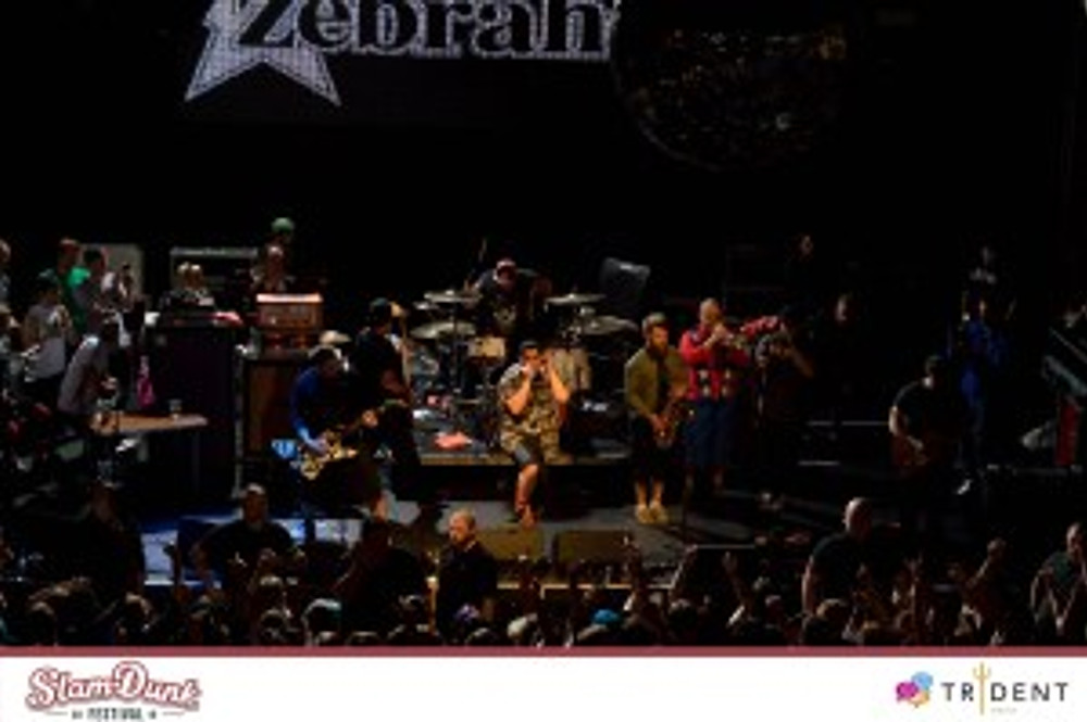 Desperados Stage - Zebrahead Credit: Bill Ahmed