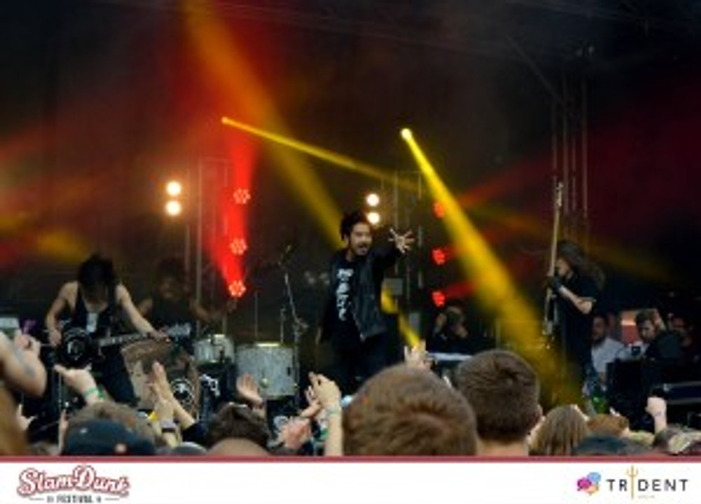 Monster Stage - Crossfaith Credit: Bill Ahmed