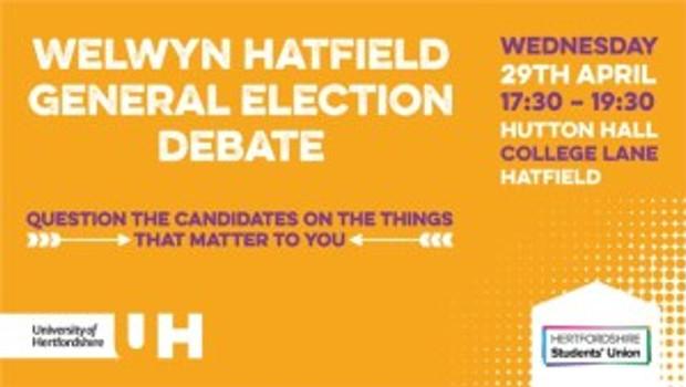 Welwyn Hatfield General Election Debate