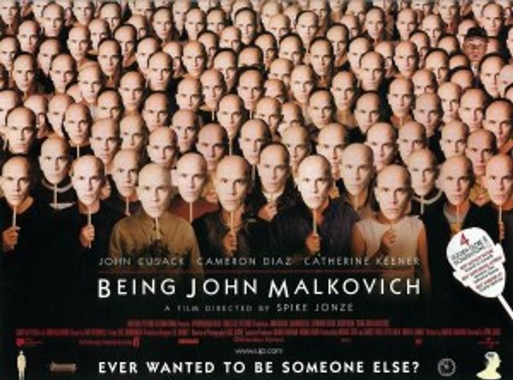 BEING JOHN MALKOVICH - UK Poster