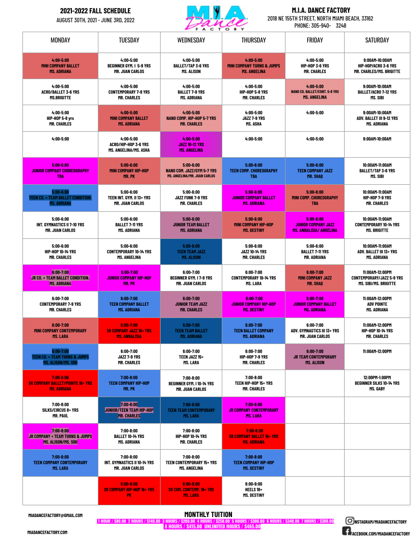 2021-2022 FALL CLASSES SCHEDULE 8.24.21 (3).png