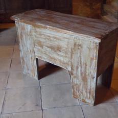 Coffre banc en bois