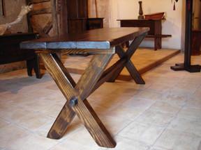 Grande table campagnarde