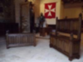 En bois - Moilier médiéval