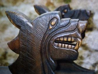 En bois - Sculpture sur bois