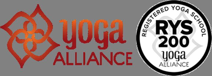 Logo Yoga Alliance và 200h RYT Alliance