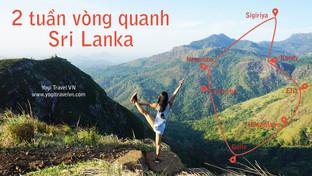 Lịch trình du lịch Sri Lanka - 2 tuần du lịch vòng quanh Sri Lanka