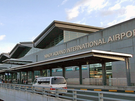 Sân bay quốc tế Ninoy Aquino NAIA- Manila - Philippine