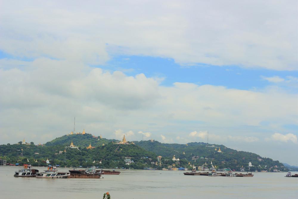 Đồi Sagaing Mandalay Myanmar