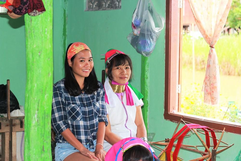 Làng dân tộc người cổ dàitrên hồ Inle Myanmar