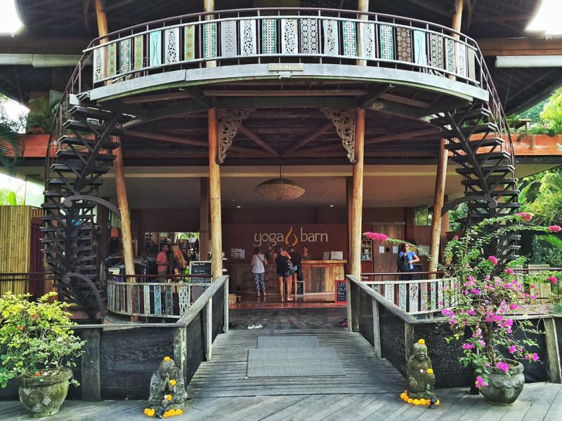 Khu lễ tân của Yoga Barn - Bali