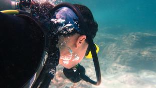 Kinh nghiệm lần đầu học lặn