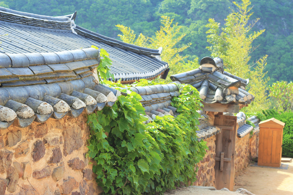 Ngôi nhà cổ ở làng Hahoe - Andong Hàn Quốc