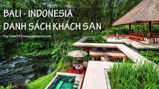 Nên đặt khách sạn ở đâu, khu nào khi đi du lịch đảo Bali - Indonesia