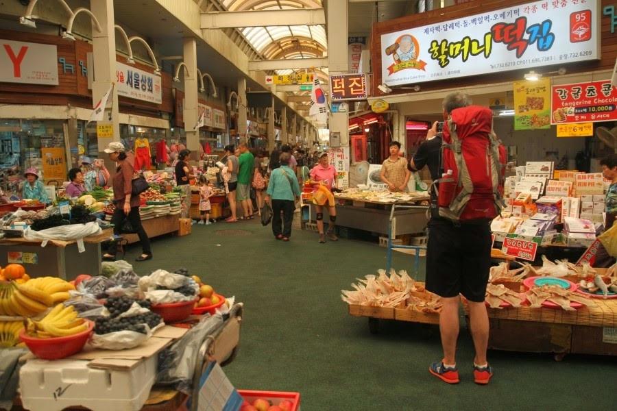 Du lịch đảo Jeju - Chợ nông sản Seogwipo Olle