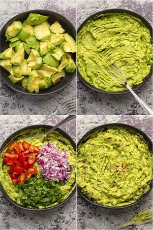 Yogi eat -  cách làm món salad quả bơ Guacamole của Mexico.