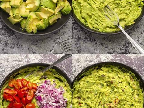 Yogi eats -  cách làm món salad quả bơ Guacamole của Mexico.