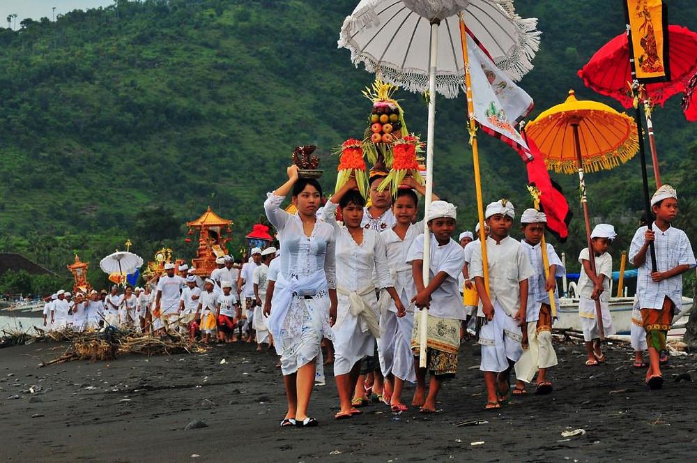 Lễ hội ở Bali - Indonesia