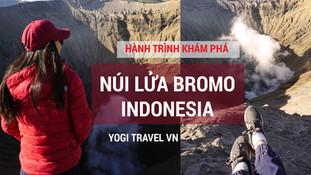 Tổng hợp kinh nghiệm, lịch trình du lịch núi lửa Bromo - hồ axit Ijen - đảo Java Indonesia (Phần 1 -
