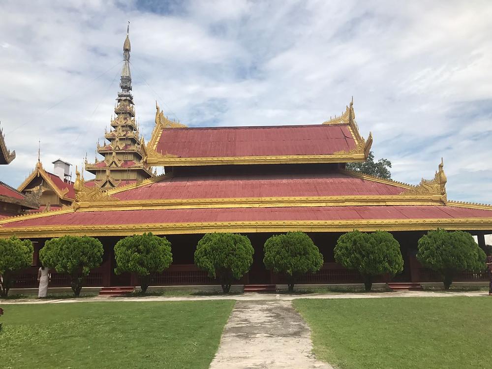 Hoàng cungMandalay- Myanmar
