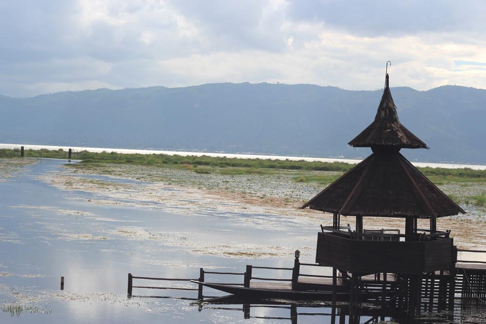 Quang cảnh từ Sky Lake Inle Resort