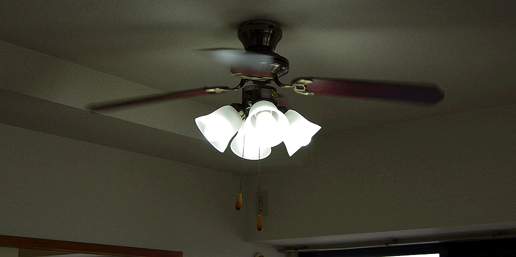 照明器具 ファン付き