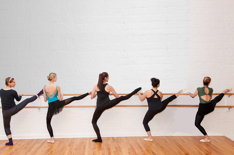 Our Students do Ballet Bod (TM) Barre Stretch