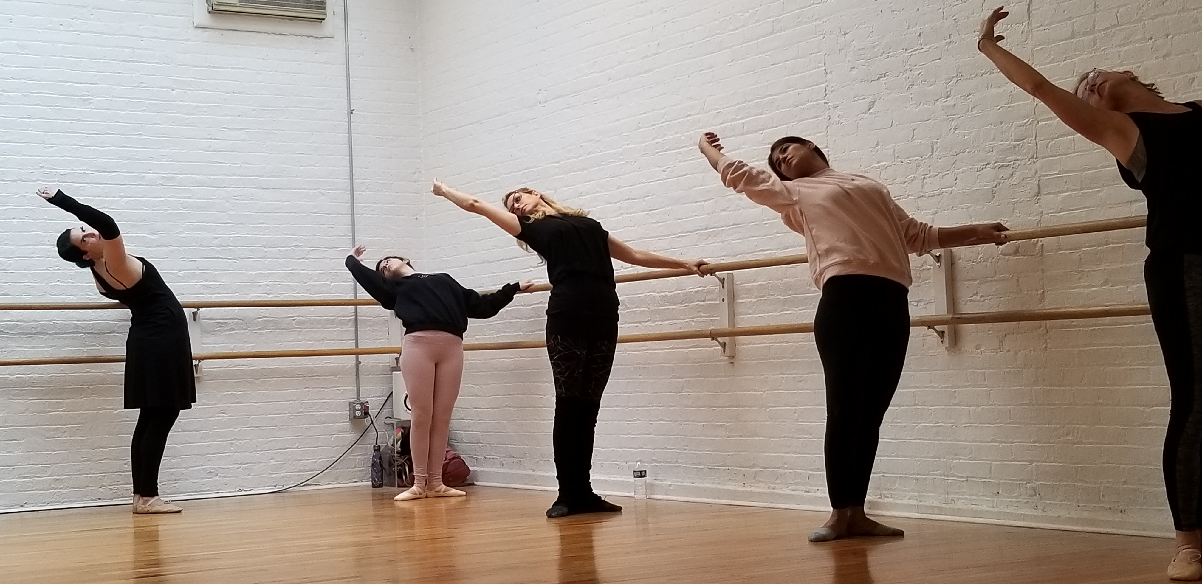 Group lessons at flagship studio Ballet & Body are small and comfortable
